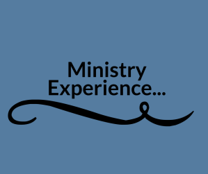 ministry experience